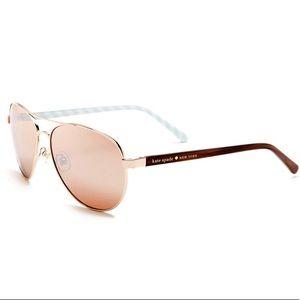 Kate spade women's Blossom Aviator Sunglasses